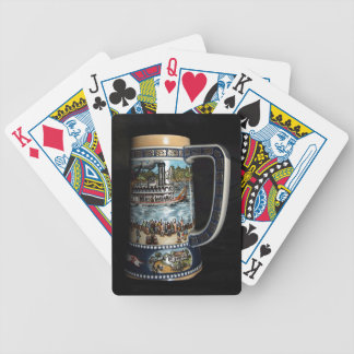 Beer Stein, decorative Bicycle Playing Cards