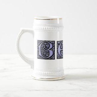 BEER stein monogram 18 Oz Beer Stein