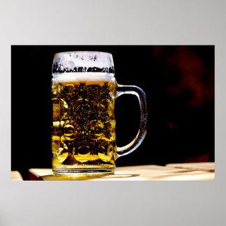 Beer Stein Mug for Bar or Mancave Photo Poster