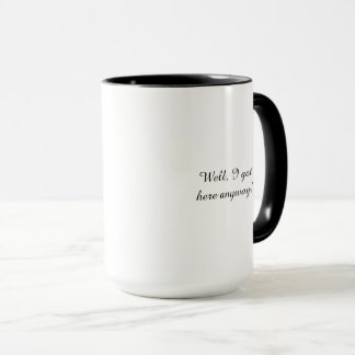 Beer Stein waterfall life quote coffee mug