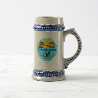 Beer Stein with Growing Young in The Villages