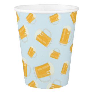 Beer Themed Paper Cups