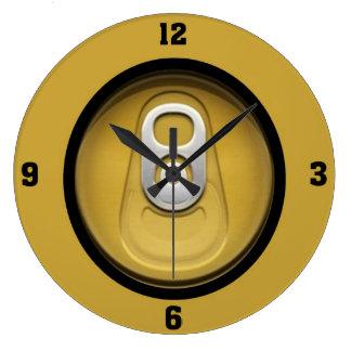 Beer Thirty Large Clock