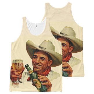 beer time All-Over-Print tank top