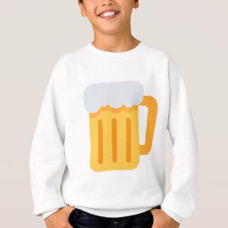 Beer time emoji sweatshirt