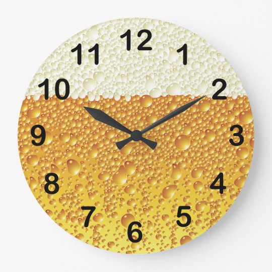 Beer Wall Clock Design