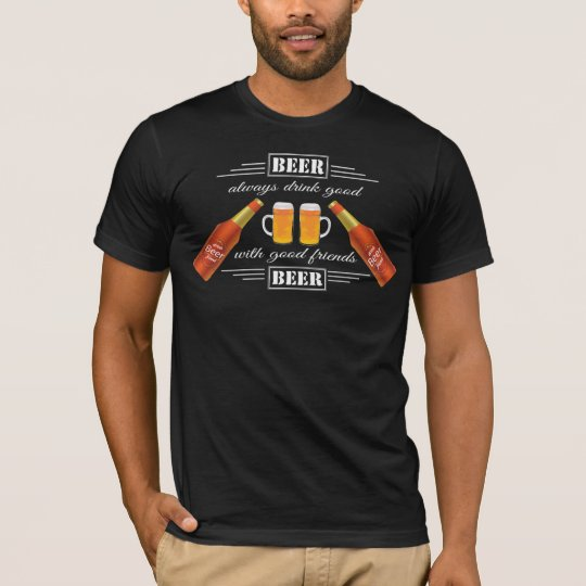 Beer with friend's Men's American Apparel T-Shirt