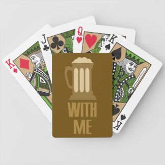 Beer With Me playing cards