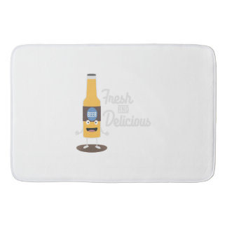 Beerbottle fresh and delicious Zdm8l Bath Mat