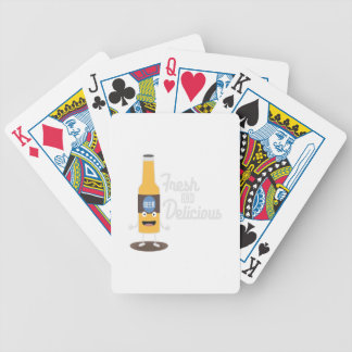 Beerbottle fresh and delicious Zdm8l Bicycle Playing Cards