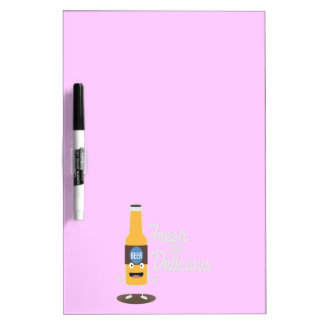 Beerbottle fresh and delicious Zdm8l Dry Erase Board