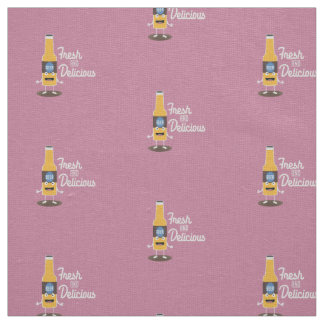 Beerbottle fresh and delicious Zdm8l Fabric