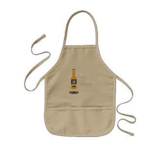 Beerbottle fresh and delicious Zdm8l Kids Apron