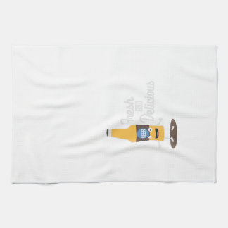 Beerbottle fresh and delicious Zdm8l Kitchen Towel