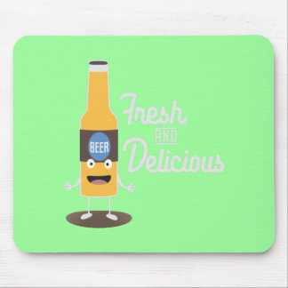 Beerbottle fresh and delicious Zdm8l Mouse Pad
