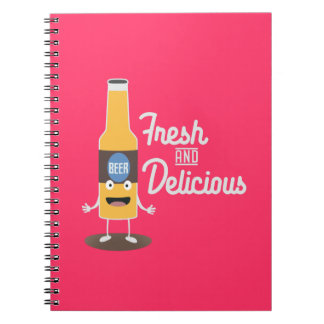 Beerbottle fresh and delicious Zdm8l Notebooks