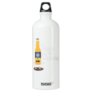 Beerbottle fresh and delicious Zdm8l Water Bottle