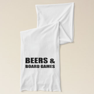 Beers And Board Games Scarf