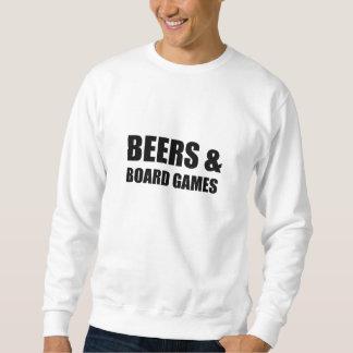 Beers And Board Games Sweatshirt