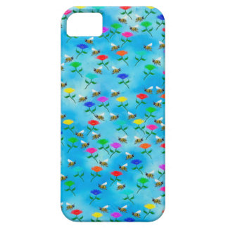 Bees and Flowers Case For The iPhone 5