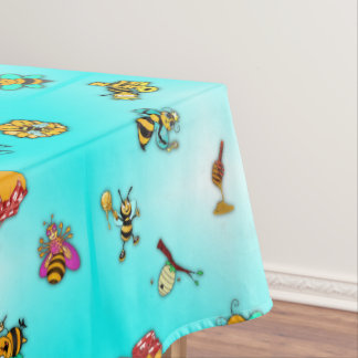 Bees and Honey Tablecloth