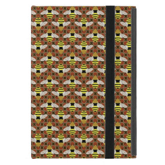Bees and Honeycomb Pattern Case For iPad Mini