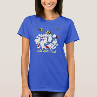 BEES and Ladybugs nature art T-Shirt