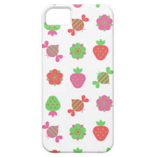 bees and strawberries iPhone 5 covers