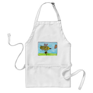 Bees Buzzing Standard Apron