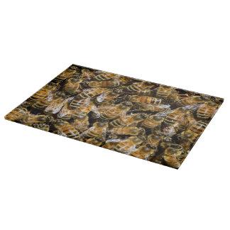 Bees carpet cutting board