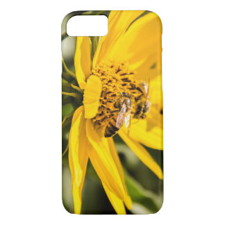 Bees Collecting Pollen iPhone 7 Case