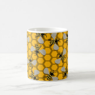 bees decoration coffee mug