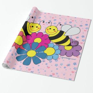 Bees & Flowers Design Illustration Sheets