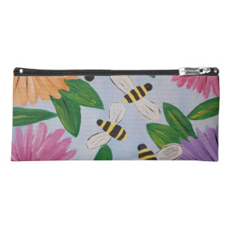 Bees & Flowers Pencil Case