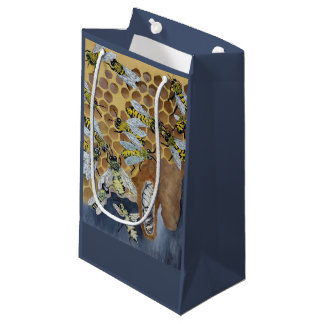 bees in a hive gift bag
