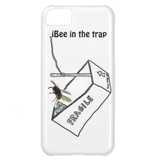 Bees in the trap, iPhone style iPhone 5C Cases