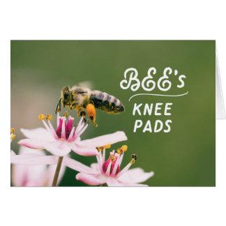 Bee's Knee Pad Blank Card