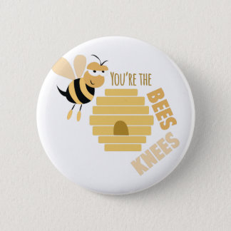 Bees Knees 2 Inch Round Button