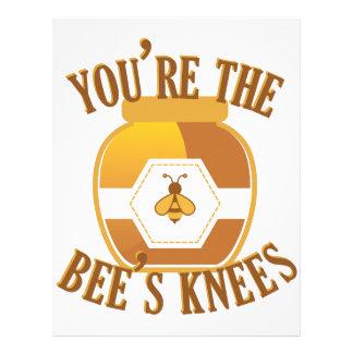 Bees Knees Letterhead Template