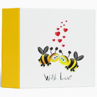 bees love vinyl binder