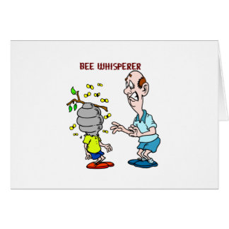 Bees Lovers Bee Whisperer Bumblebee Card