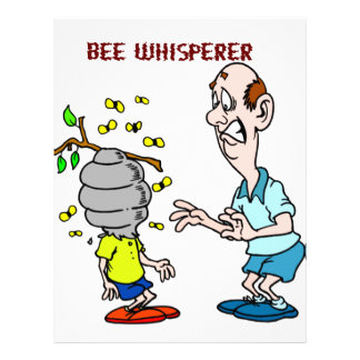 Bees Lovers Bee Whisperer Bumblebee Letterhead