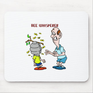 Bees Lovers Bee Whisperer Bumblebee Mouse Pad