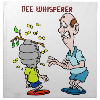 Bees Lovers Bee Whisperer Bumblebee Napkin