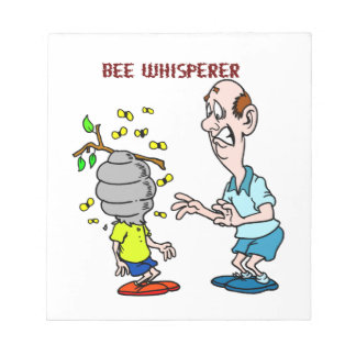 Bees Lovers Bee Whisperer Bumblebee Notepad