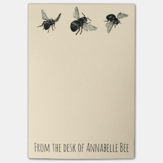 Bees Post-it® Notes