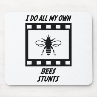 Bees Stunts Mouse Pads