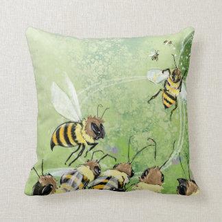 BEES! THROW PILLOW
