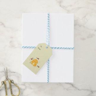Bees with Beehives Pack Of Gift Tags