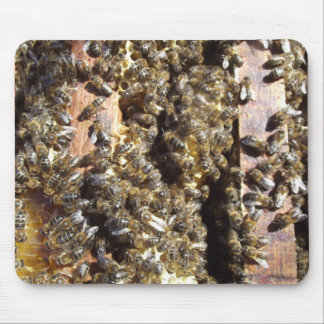 Bees   Working    Mousepad
